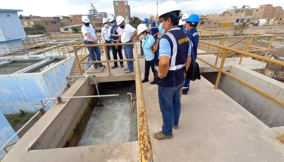 Lambayeque: El director de Otass, Hugo Ortega Polar, anunció que gestionan el financiamiento de dos obras para mejorar la producción y calidad del agua que beneficiarán a más de 115 mil familias de cinco distritos de la provincia de Chiclayo. (Foto: Otass)