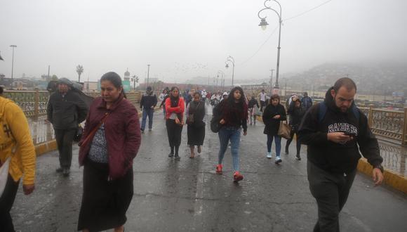 En Lima Oeste, la temperatura máxima llegaría a 17°C, mientras que la mínima sería de 14°C. (GEC)