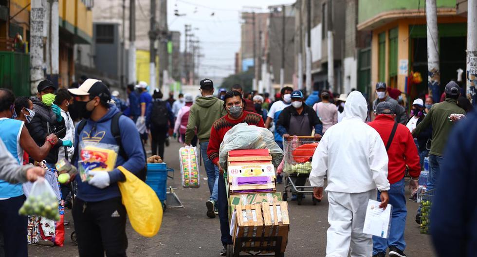 Mercado de Caquetá con las respectivas medidas sanitarias. (Fotos: Hugo Curotto/GEC)