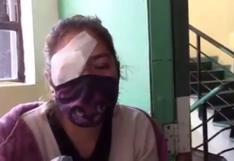 Madre de Dios: enfermera pierde un ojo tras ser atacada con piedras en paro de cocaleros   VIDEO