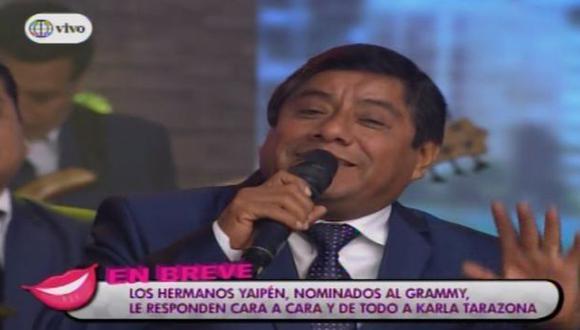 Los 'Hermanos Yaipén' se convirtieron en miembros del comité del Grammy Latino (América TV)