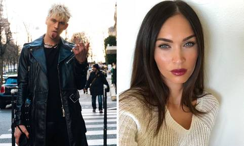 La actriz Megan Fox y el rockero Machine Gun Kelly han sido vistos juntos en Los Ángeles. (@megafox / @machinegunkelly).