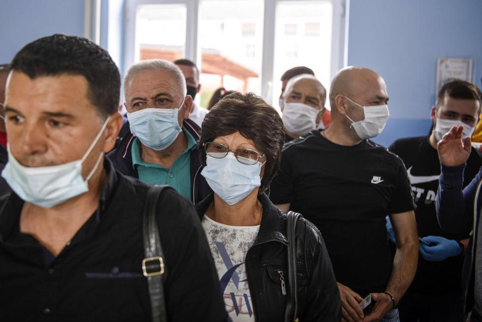 Los comicios parlamentarios en Serbia, programados inicialmente para el 19 de abril, acabaron aplazados por la declaración mundial de emergencia por la pandemia de coronavirus. (AFP/ARMEND NIMANI).