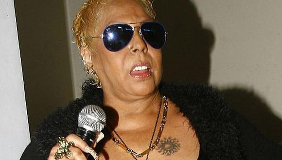 Lucía de la Cruz pide que la vacunen junto a otras cantantes criollas. (Foto: GEC).
