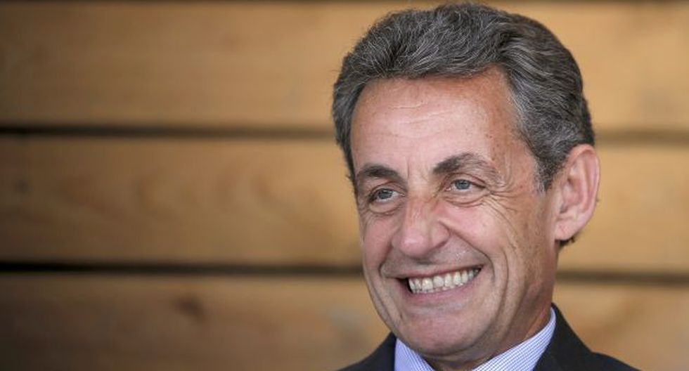 Nicolas Sarkozy no aclaró si participaría en las primarias previstas para noviembre. (Reuters)