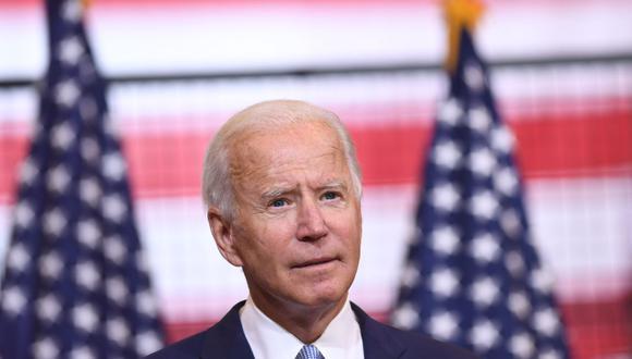 El candidato demócrata a la presidencia de Estados Unidos, Joe Biden, prometió este viernes que si gana las elecciones la vacuna contra el coronavirus podría ser gratis para todos (Foto: SAUL LOEB / AFP).