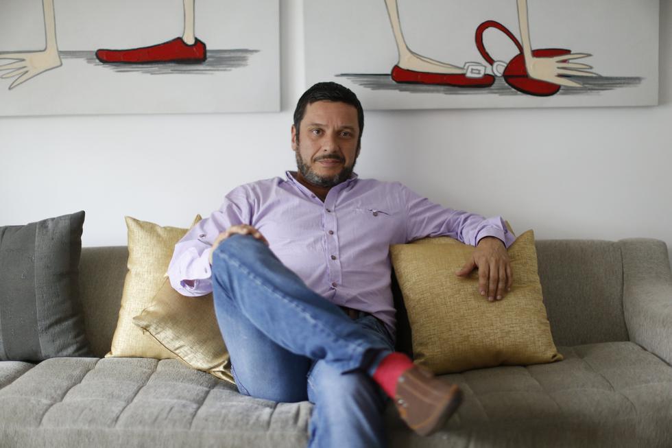El conductor de 'Válgame Dios' cuestionó que Lucho Cáceres sea jurado en 'El artista del año'. (Mario Zapata)