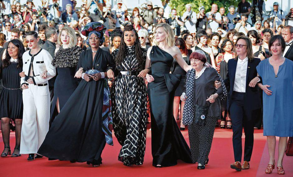 Cannes: Actrices protestan en festival por falta de oportunidades. (USI)