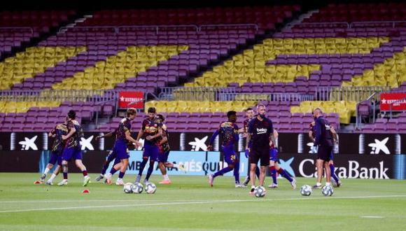 Barcelona recibirá este martes a Atlético de Madrid en el Camp Nou. (Foto: FC Barcelona)