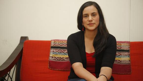 Verónika Mendoza apeló a temas como la corrupción, impunidad, e inseguridad para presentar su pre candidatura. (Andrés Valle/USI)