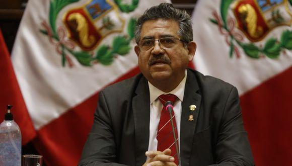Merino deberá remitir al presidente Martín Vizcarra la autógrafa para su suscripción y posterior promulgación. (Foto: Mario Zapata/GEC)
