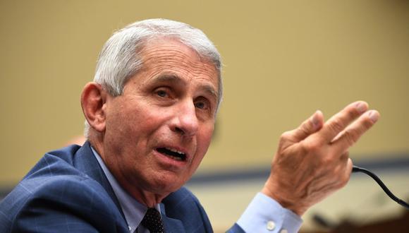 Anthony Fauci es el principal responsable científico en la lucha contra el coronavirus en Estados Unidos. (Foto: KEVIN DIETSCH / AFP / Pool)