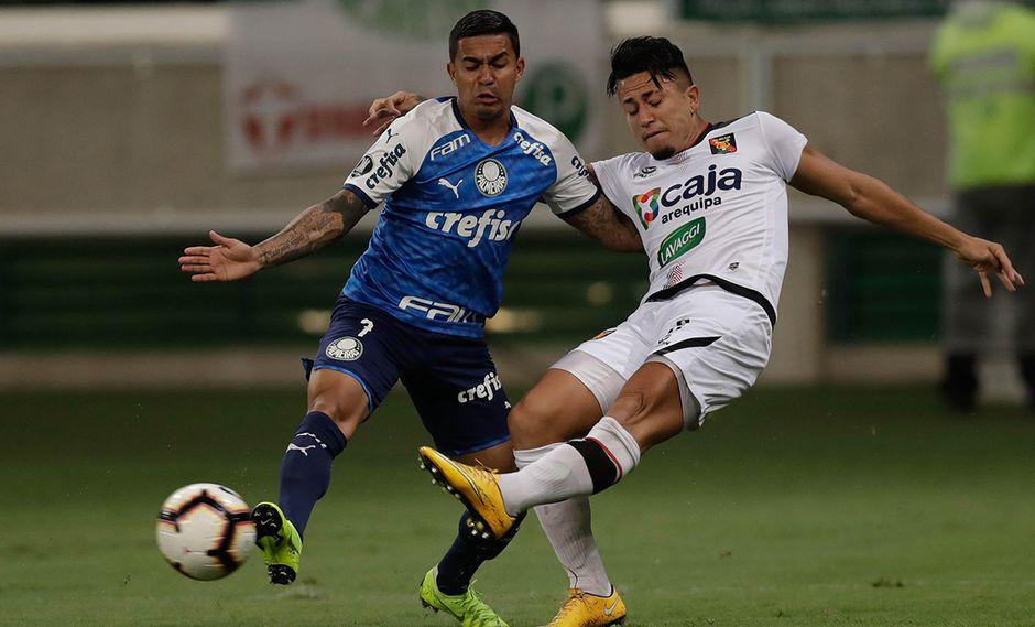 Melgar recibe a Palmeiras en la próxima fecha de la Copa Libertadores. (Foto: EFE)