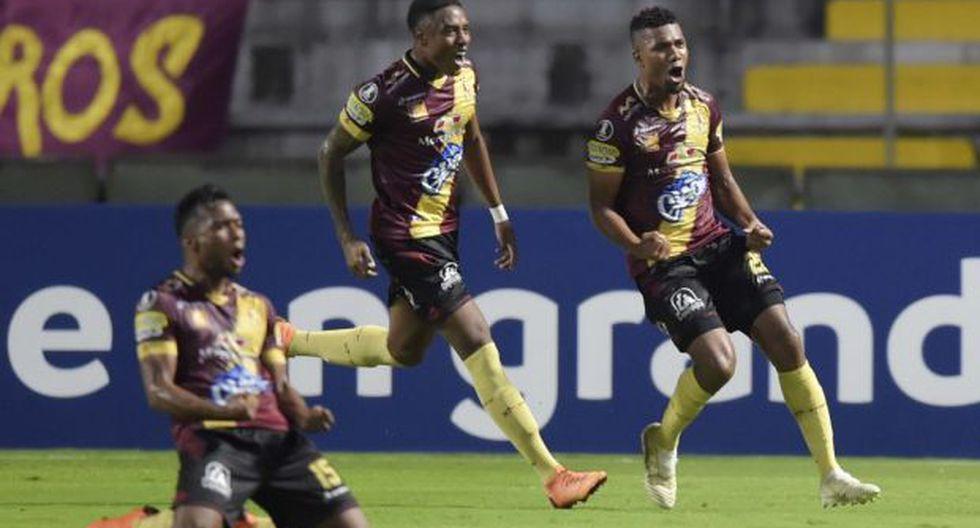 Tolima marcha tercero en el grupo G de la Copa Libertadores con tres unidades, detrás de Boca Juniors (6) y Atlético Paranaense (3). Wilstermann es colero con un punto. (Foto: AFP)