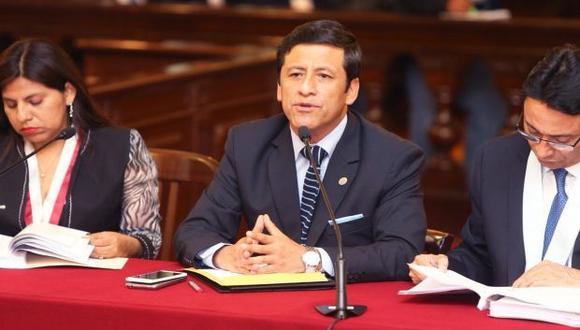 Guido Aguila es acusado de los presuntos delitos de patrocinio ilegal, y cohecho pasivo específico. (Foto: Poder Judicial)