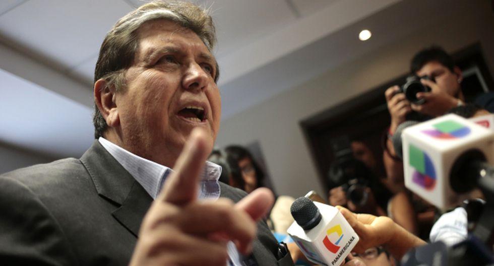 CARGAMONTÓN. Nacionalistas advierten que García quiere dar clases de lo que no hizo en su gestión. (César Fajardo)