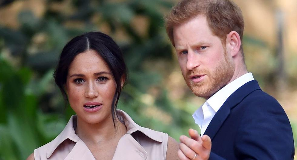 Imagen del príncipe Harry, nieto de la reina Isabel II, y su esposa Meghan Markle. (Foto de archivo: EFE)