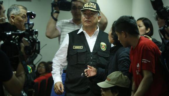 A LA ESPERA. Urresti dijo que, si el fiscal formulaba acusación contra él, renunciaba al cargo. (Mario Zapata)