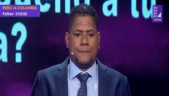 """El popular 'Chiquito' Flores es el invitado a la última edición de """"El valor de la verdad"""". (Captura de pantalla)"""