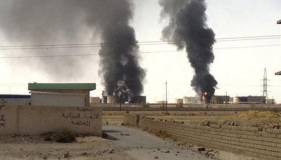 EEUU lanzó ataques aéreos contra Estado Islámico cerca a Bagdad. (EFE/Referencial)
