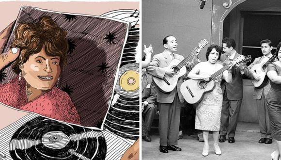 """Eloísa Angulo es recordada como """"La Soberana de la canción criolla"""" y falleció a los 72 años un 30 de octubre. (Foto: Archivo histórico de El Comercio / Google)."""