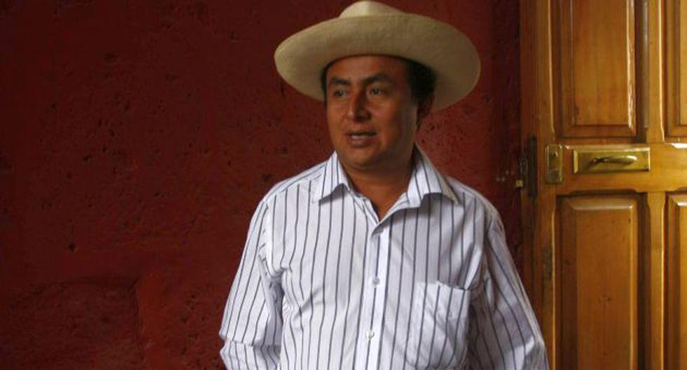 Le llueven críticas. Gregorio Santos demuestra intransigencia al negarse a dialogar. (Heiner Aparicio)