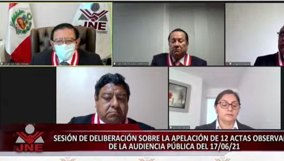 La Sociedad Nacional de Radio y Televisión pide que deliberación de apelaciones siga siendo pública. (Foto: JNETV)