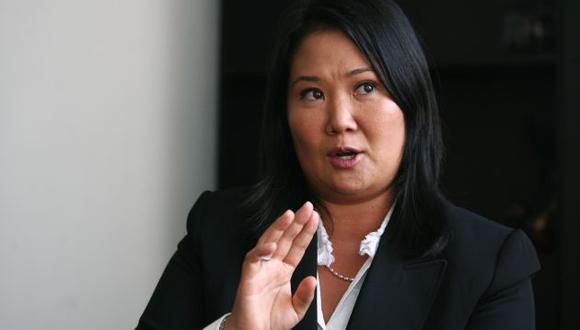 Keiko dijo que en la reunión se hablará sobre los aportes de independientes a las AFP. (USI)