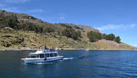 Lago Titicaca, en Puno. (Redes)