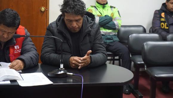 Pasco: Rolando Ramos el día que fue detenido y le dictaron prisión preventiva 9 meses en el año 2018. (Foto: Libre Pasco)