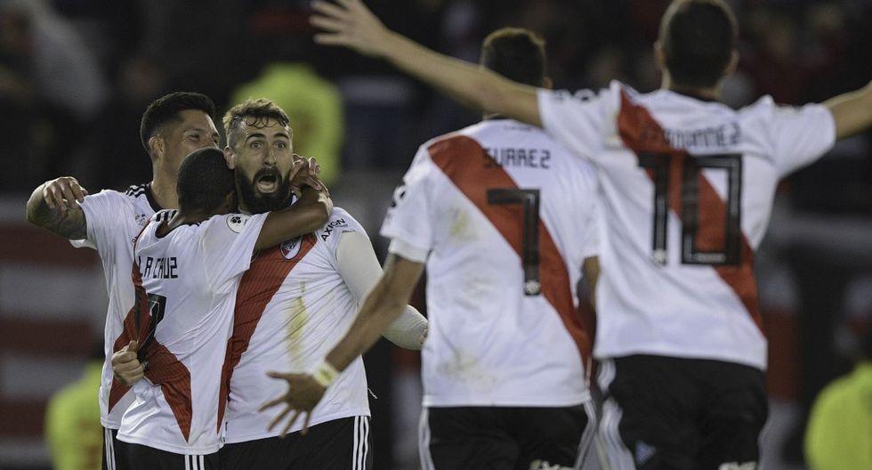 Racing, Defensa y Justicia, Tigre y Boca acompañarán a River Plate a la fase de grupos copera, mientras que Atlético Tucumán deberá disputar las rondas de clasificación. (Foto: AFP)