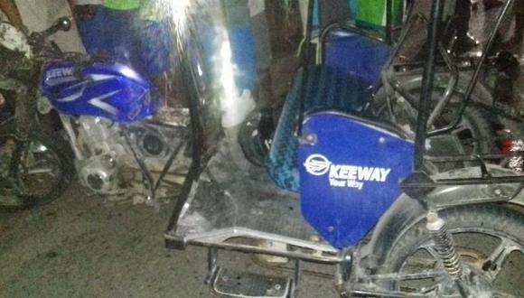 Una persona murió en el choque de un mototaxi chocó con una motocicleta.