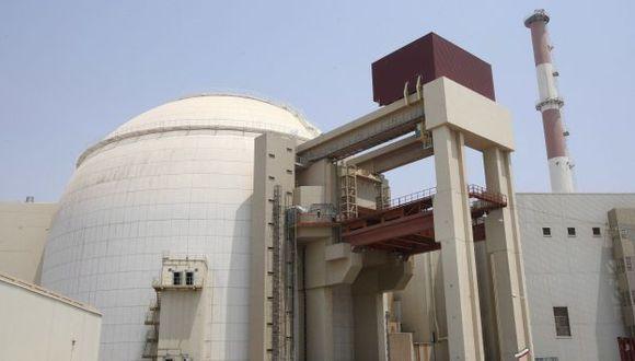 Imagen que muestra una vista exterior de la central nuclear en Bushehr, al sur de Irán. (EFE)