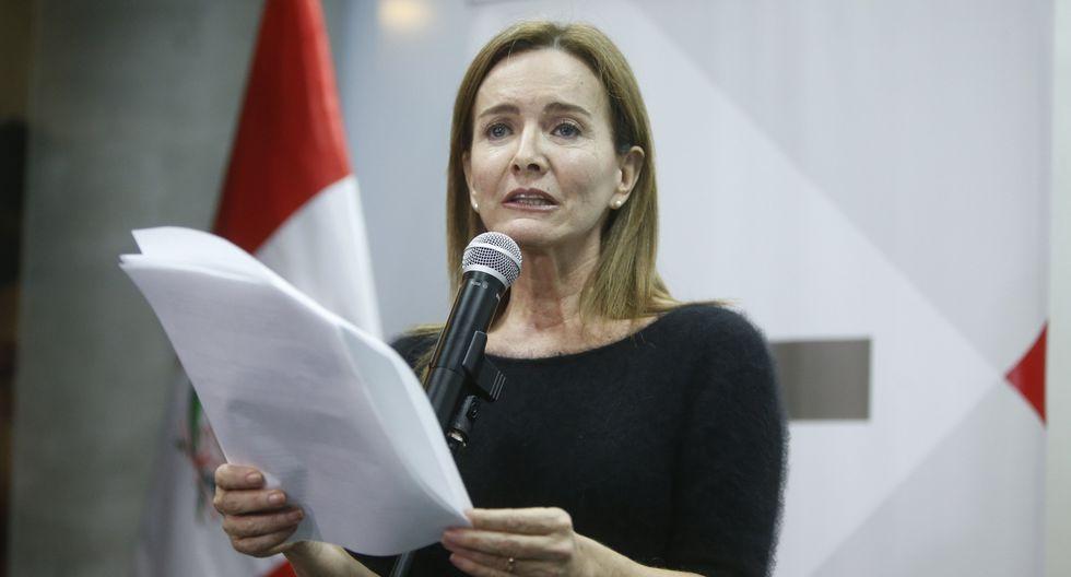 Marilú Martens contó que se descontó hasta S/30 mil a maestros en huelga. (USI)
