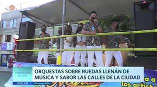 Orquestas sobre ruedas invaden las calles