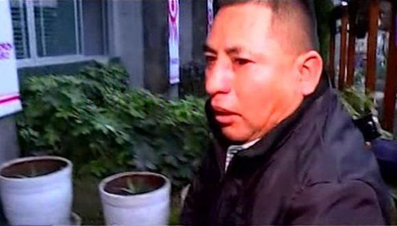 El sujeto fue detenido por la Policía. (Foto: Captura/Latina)