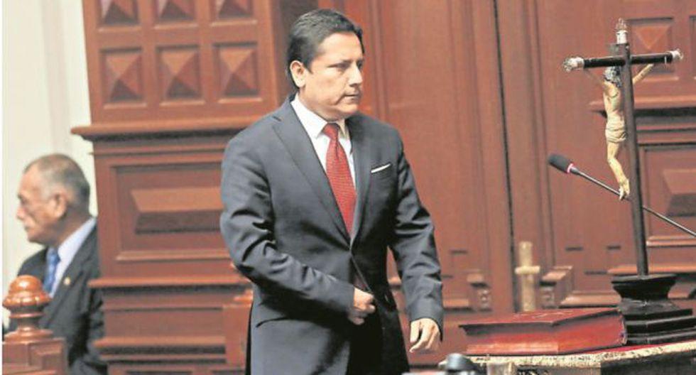 En aprietos. El caso de Elías Rodríguez está en fase de indagación en la Comisión de Ética. (Anthony Niño de Guzmán)