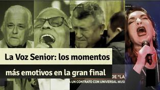 """""""La Voz Senior"""": revive los momentos más emotivos de la gran final y el triunfo de Mito Plaza"""