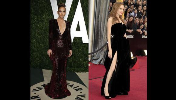 J.Lo y Angelina fueron las más criticadas de la noche. (Reuters)