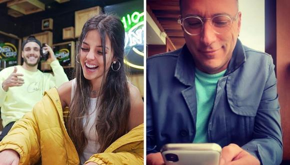 Carlos Galdós envió fuerte comentario a Luciana Fuster y Mario Irivarren. (Foto: Instagram / @galdosoficial / @lucianafusterg).