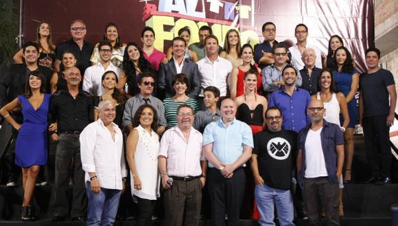 Serie dirigida por Efraín Aguilar sigue presentado alta sintonía. (USI)