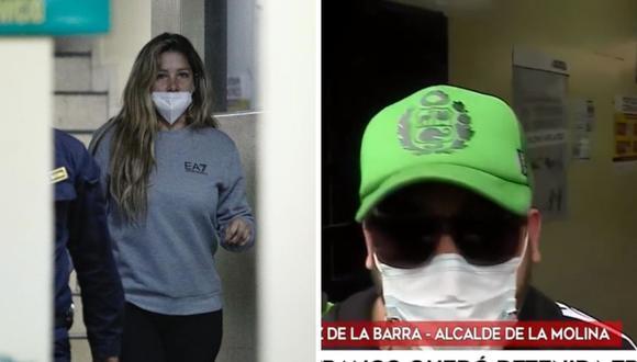 Sofía Franco se encuentra detenida en la comisaría Santa Felicia. (Foto: Captura América TV / Joel Alonzo/ @photo.gec)