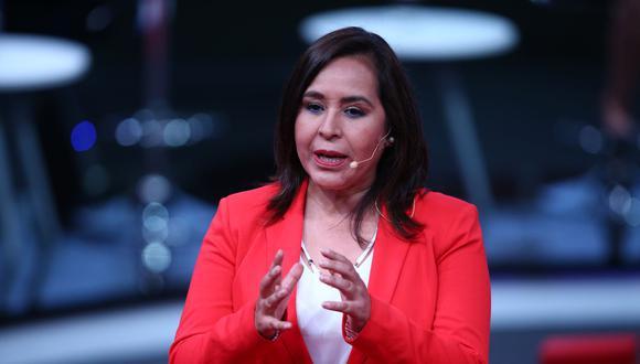 Nidia Vílchez señaló que Abel Salinas y Roque Benavides forman parte del equipo de plan de gobierno. (Foto: Andina)