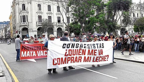 Lima acogió 2 movilizaciones. (USI)