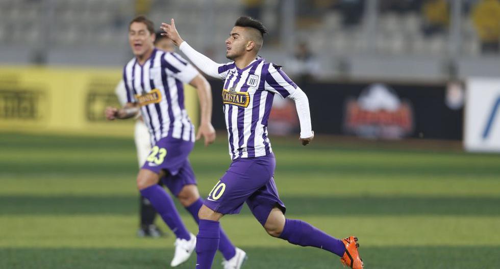 Alianza venció 1-0 a la \'U\' con gol de Víctor Cedrón y toma la punta. (Luis Gonzales/Perú21)