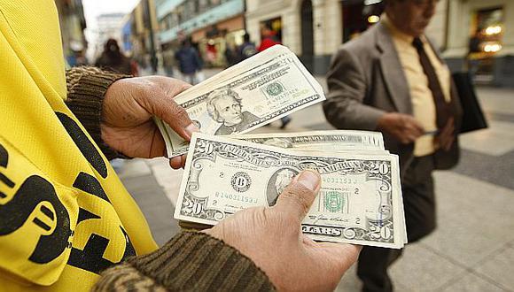 Nueva intervención del BCR evitó que el dólar profundice su caída. (USI)