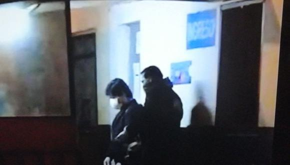 Edwin Oviedo deja la prisión de Picsi para cumplir con arresto domiciliario. (RPP)