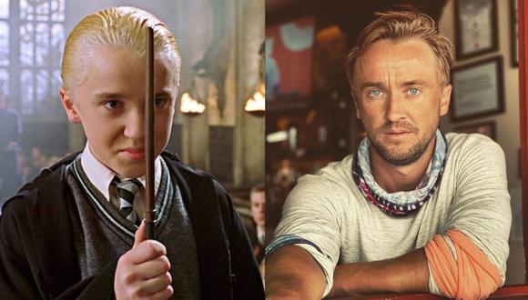 Tom Felton, Draco Malfoy en Harry Potter, se desmayó mientras jugaba golf. (Foto: Composición/Instagram)