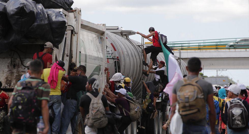 El gobierno mexicano aseguró que respetará los derechos humanos de los migrantes. (Foto: EFE)