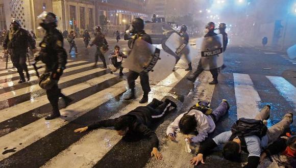 Jiménez señaló que estas manifestaciones están reguladas y lo que se busca es orden en las protestas. (Luis Gonzales)